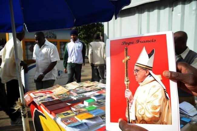 KENYA-RELIGION-POPE