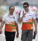 F1 Drivers at Sepang International Circuit