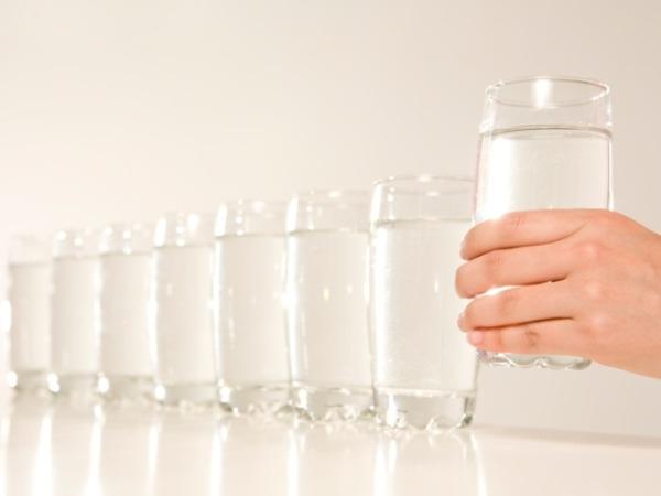 Best Muscle Building Foods : Water