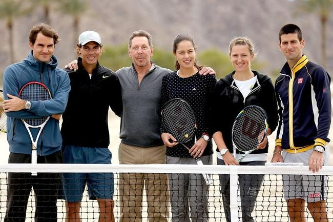 Tennis Stars Turn Ground Breaker