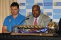 ICC Test Championship Mace Handover