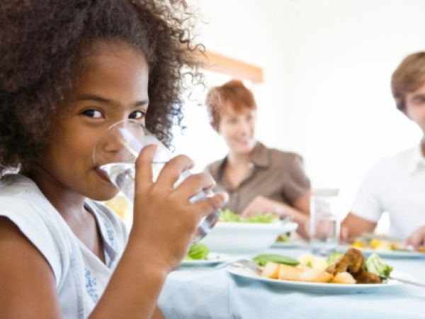 Healthy Fast Food Eating Tip # 4: Always drink water with your fast food