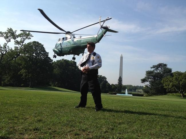 Secret Service Protecting the US President