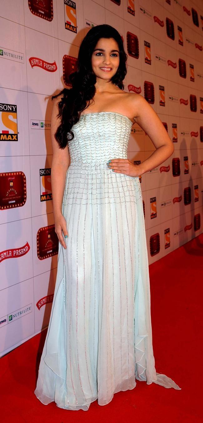 In a Shehla Khan gown
