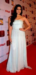 In a Shehla Khan gown