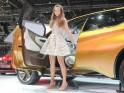 Girls at the Geneva Motor Show 2013