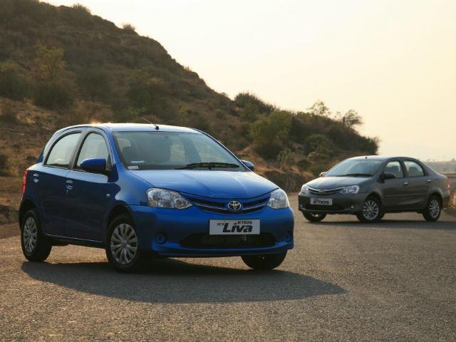 2013 Toyota Etios and Liva