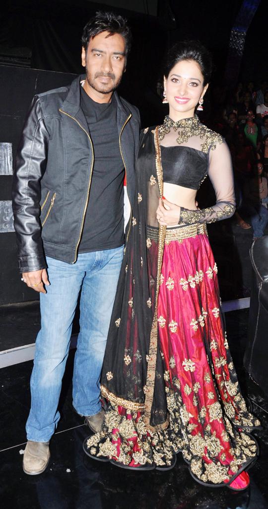 Ajay Devgn and Tamanna