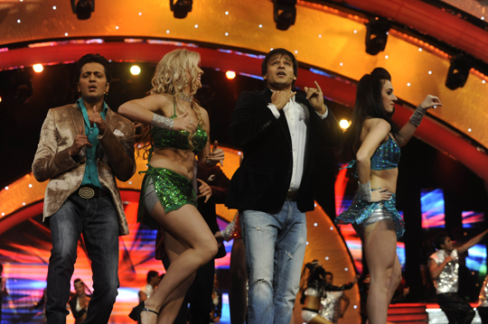 Riteish Deshmukh and Vivek Oberoi