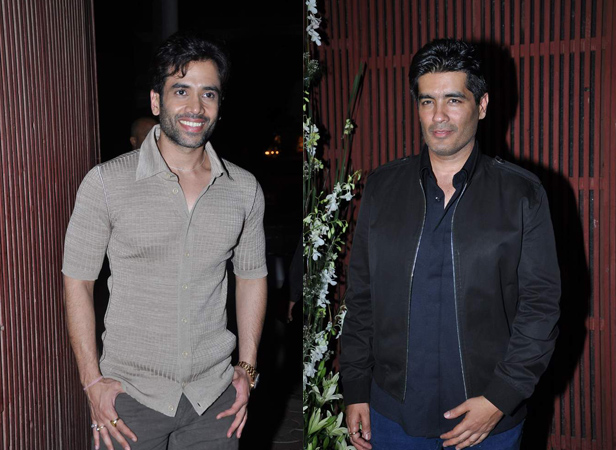 Tusshar Kapoor, Manish Malhotra
