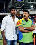 Vishal Krishna and Mohanlal