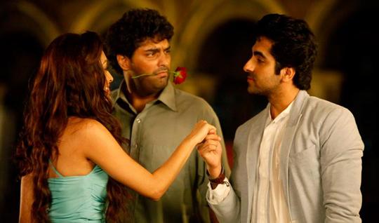 Pooja Salvi, Kunaal Roy Kapur and Ayushmann Khurrana