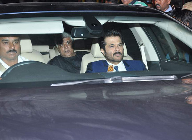 Javed Akhtar and Anil Kapoor