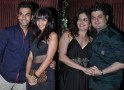 Raj Kumar Yadav with girlfriend, Dabboo Ratnani with wife