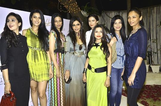 Shirya Kishore, Sucheta Sharma, Anjhula Singh Bais, Nisha JamVwal, Sounia Gohil, Mamta Raja, Shamita Singha