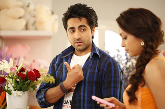 Ayushmann Khurrana and Pooja Salvi
