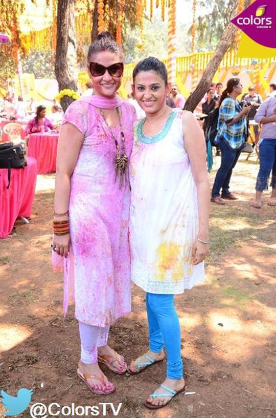 Urvashi Dholakia with Smita Bansal