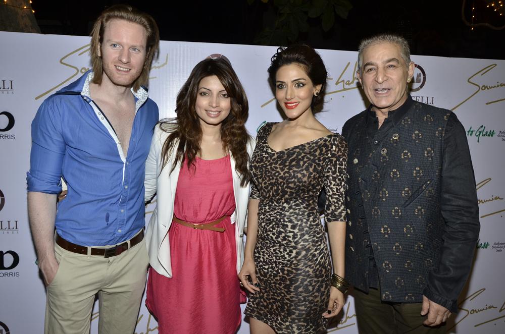 Alex O Nell, Shama Sikender, Sudeepa Singh, Dalip Tahil