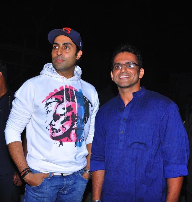 Abhishek Bachchan At Wassup Andheri