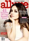 American actress Mila Kunis