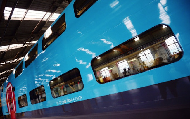 he train will start transporting its first passengers from April 2, with the Ouigo service operating from Marne-la-Vallée near Disneyland Paris, Lyon-Saint-Exupéry airport, Marseilles and Montpellier