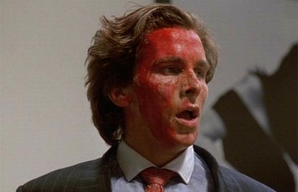 Christian Bale as Patrick Bateman