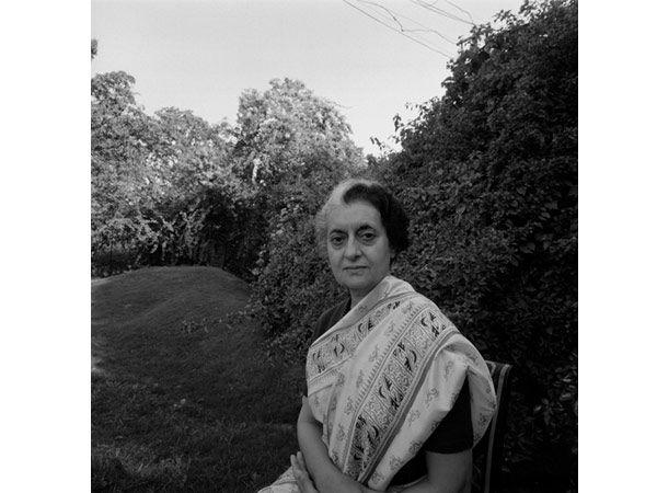 Mrs Indira Gandhi, 1976