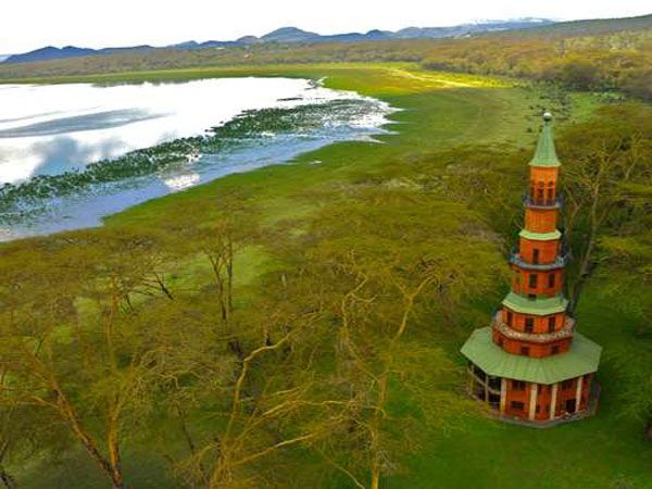 Dodo's Tower, Hippo Point, Naivasha, Kenya