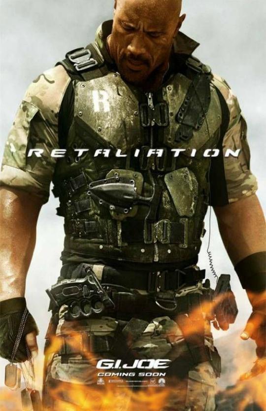 Dwayne Johnson as Roadblock