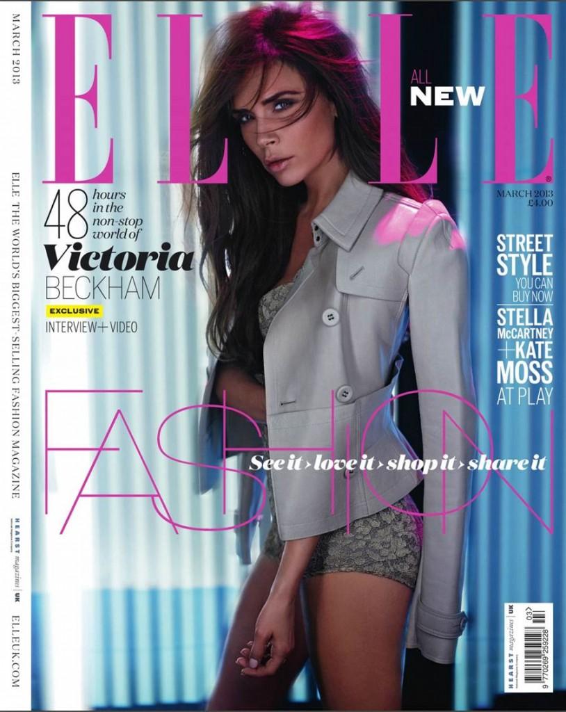 English singer/model Victoria Beckham