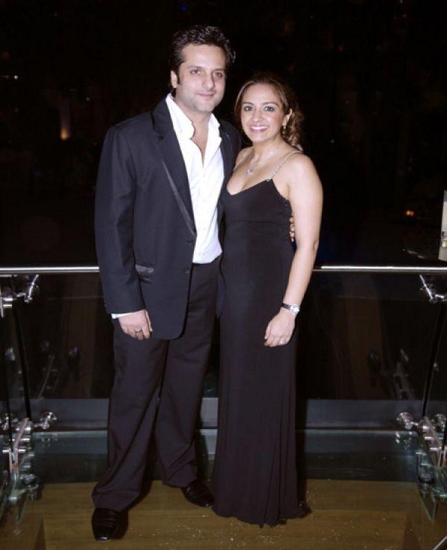 Fardeen Khan & Natasha Madhavani