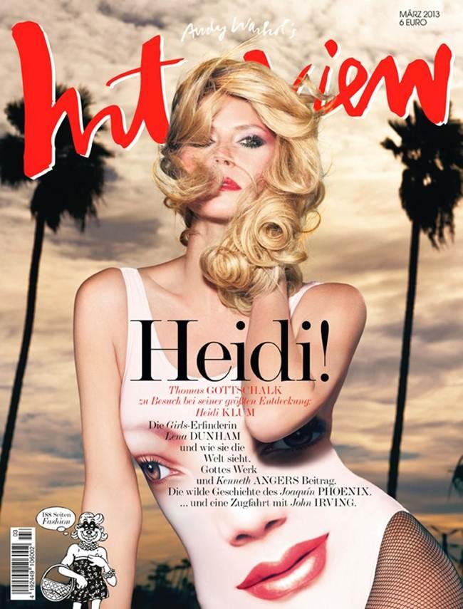 German actress and model Heidi Klum