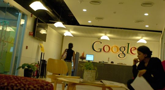 In Pics Google Offices in India Indiatimescom