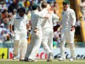 Sachin Tendulkar walks back after being dismissed by Steven Smith