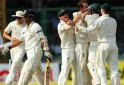 Sachin Tendulkar walks back after bein dismissed by Nathan Lyon