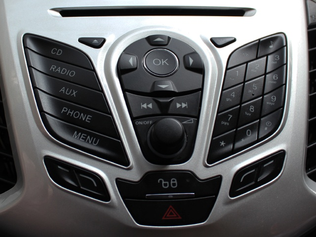 Infotainment system has voice activated controls