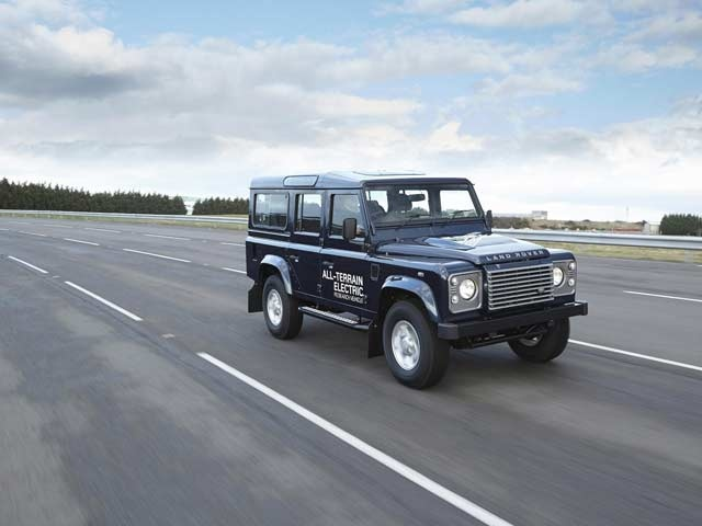 Land Rover Electric Defender