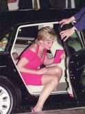 Diana attends a dinner in Argentina.