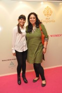 Neha Lidder, Head Marketig DLF Emporio with Sheeba Anand