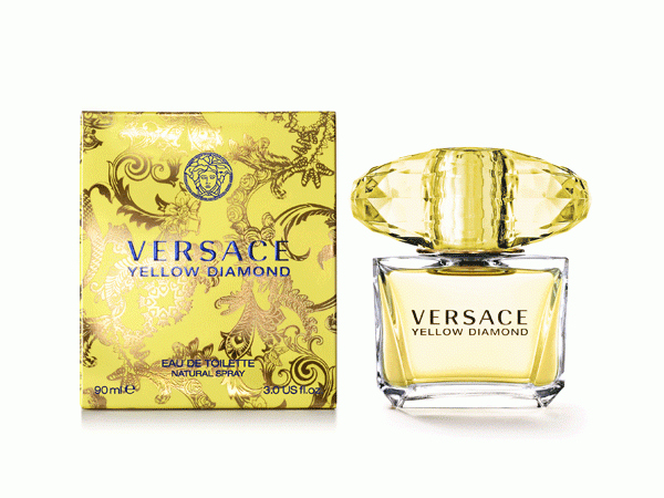 Versace Yellow Diamond; Versace