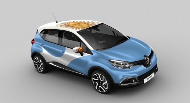 Renault Captur Argentina version