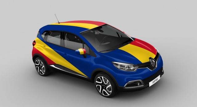Renault Captur Romania version