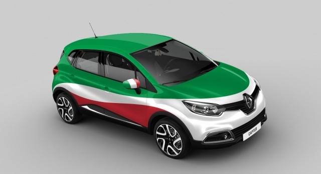 Renault Captur Italy version