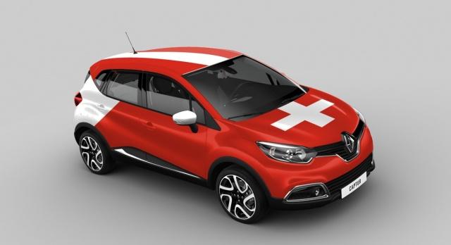 Renault Captur Switzerland version