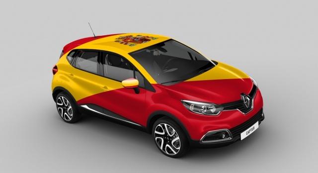 Renault Captur Spain version