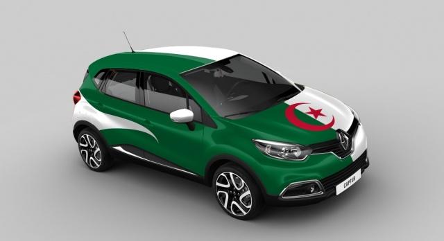Renault Captur Algeria version