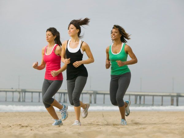Running or Walking -- on Hills