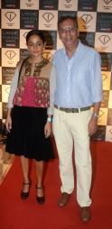 Anil and Sabina Chopra