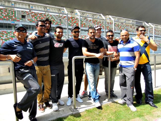 Team India Stars at Buddh International Circuit