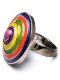 Multi-coloured ring